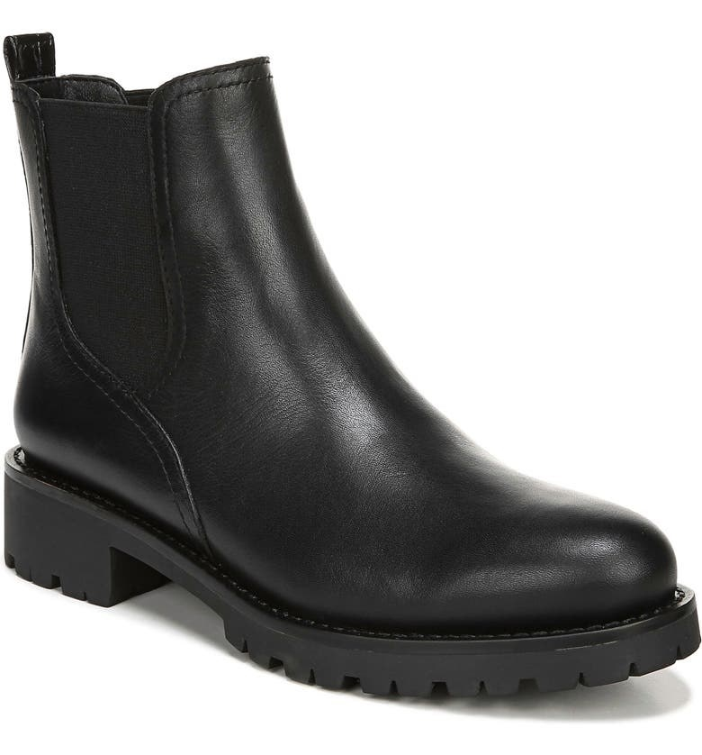 The boots in black