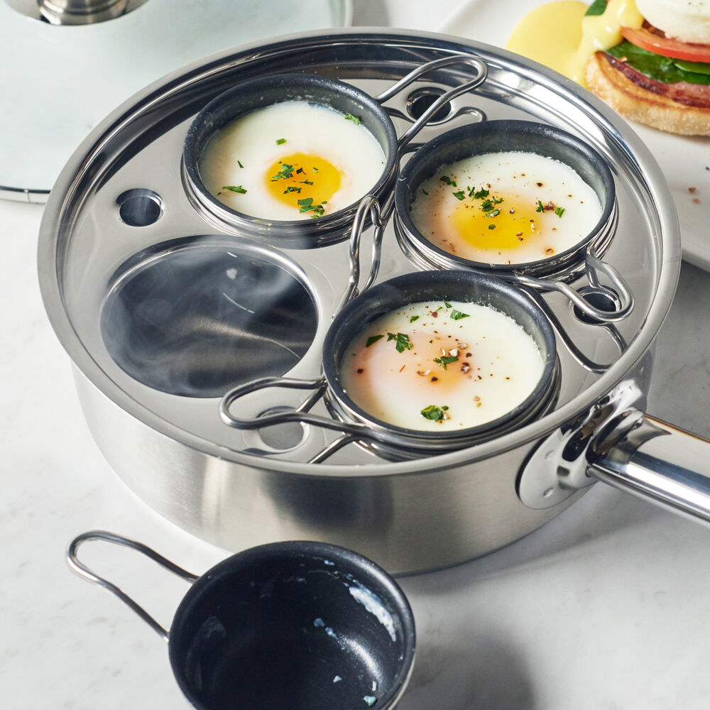 stainless steel poached egg cooker