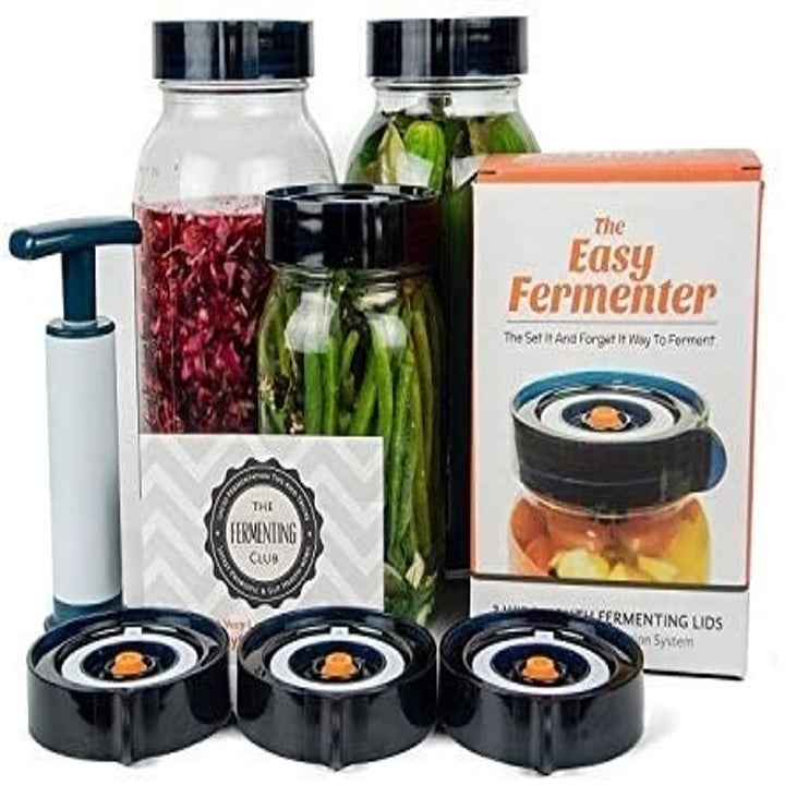 the fermentation lid kit