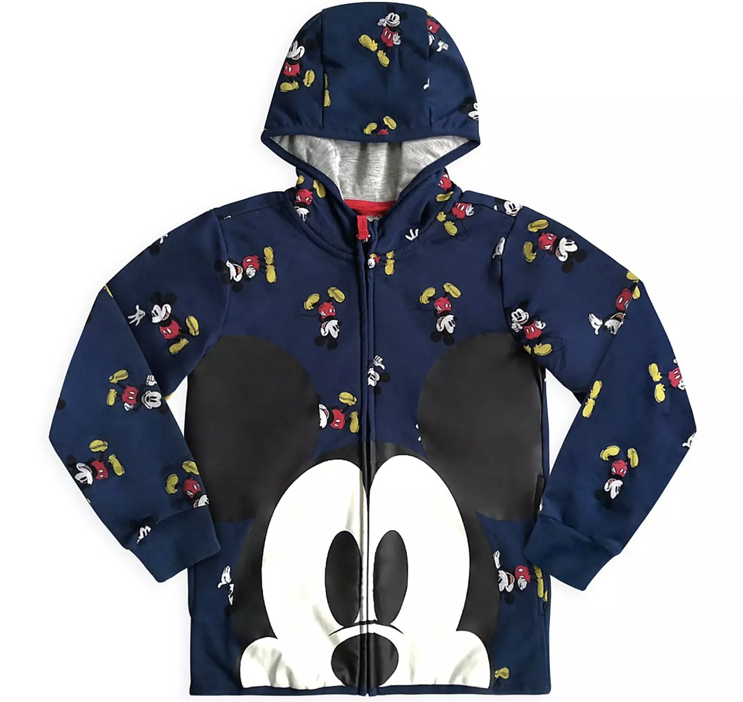 The dark blue Mickey Mouse hoodie