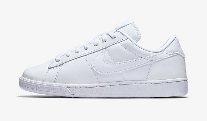 the white sneakers