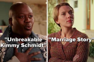"""""""Unbreakable Kimmy Schmidt"""" and """"Marriage Story"""""""