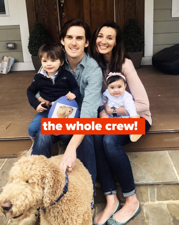 The author and her family.