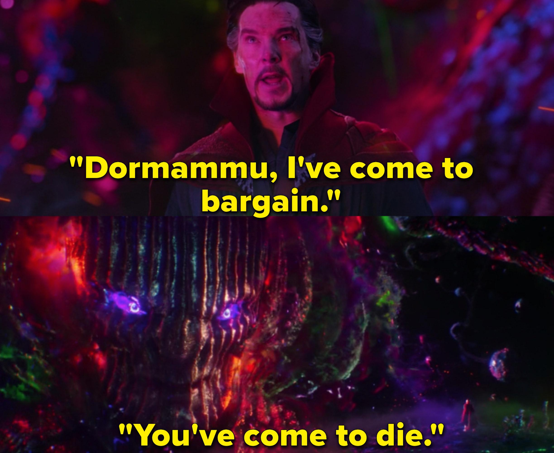 "Benedict Cumberbatch as Dr. Stephen Strange in the movie ""Doctor Strange."""