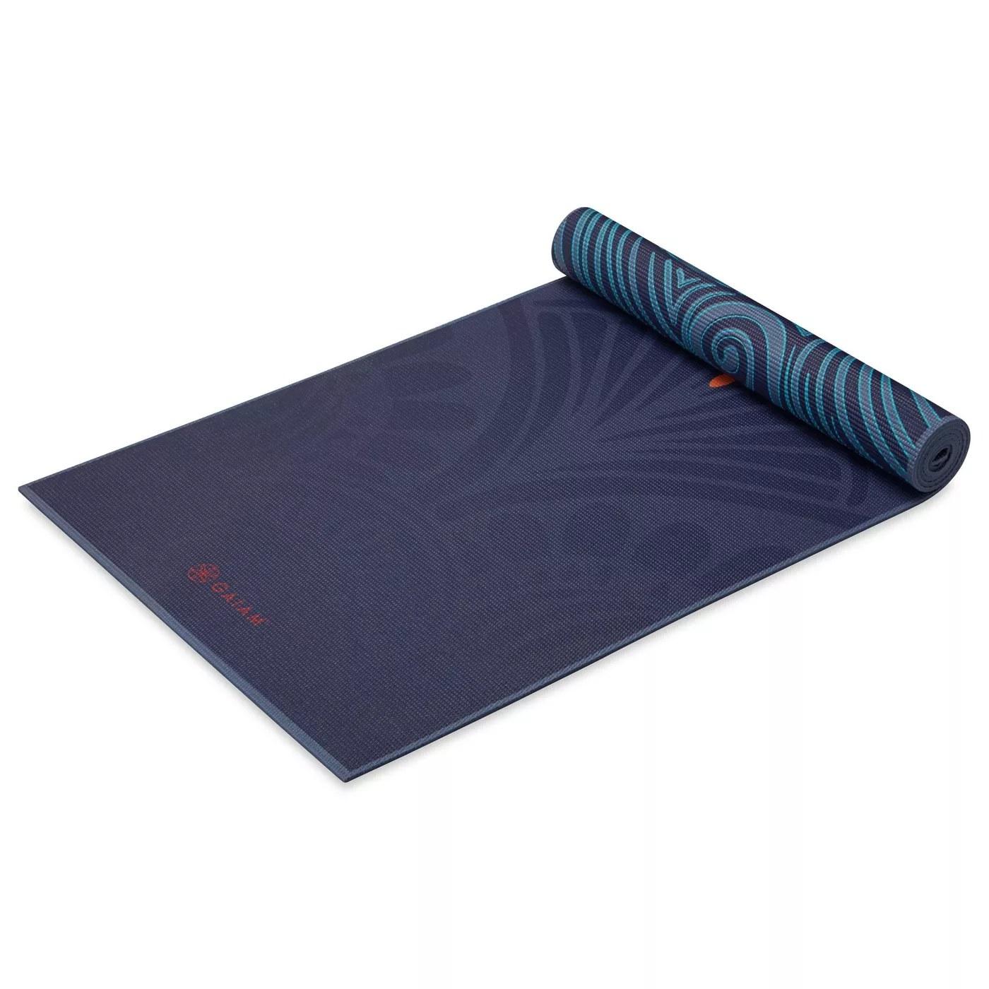 The teal mandala mat