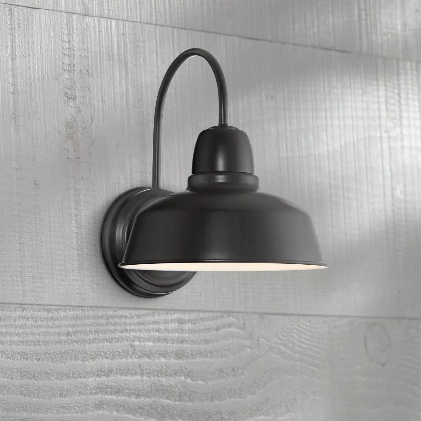 The black light fixture