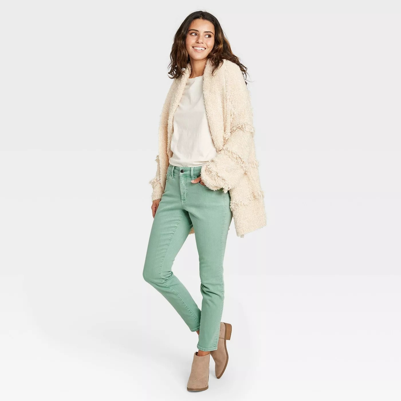 The green jeans