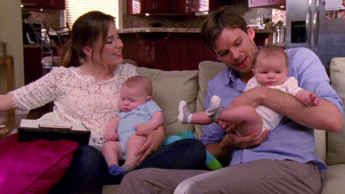 Brooke and Julian with their twins