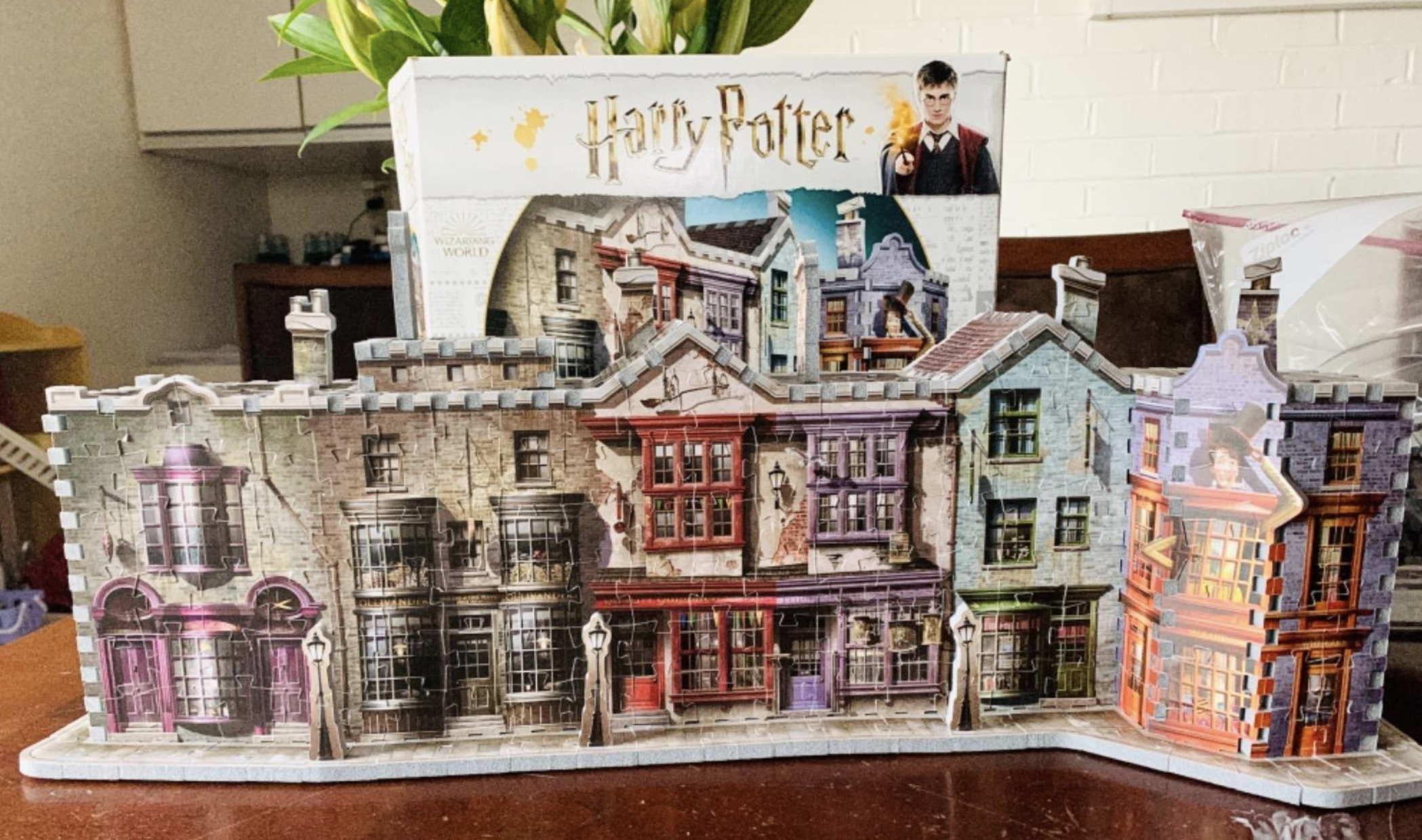 reviewer photo of the completed puzzle
