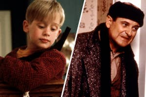 Kevin and Marv from Home Alone