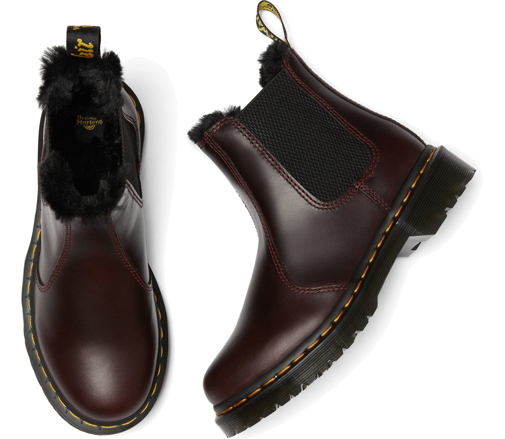 the boots in oxblood