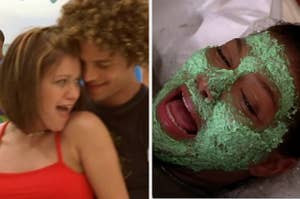 """Justin Guarini and Kelly Clarkson in """"From Justin to Kelly"""" and Queen Latifah in """"Last Holiday"""""""