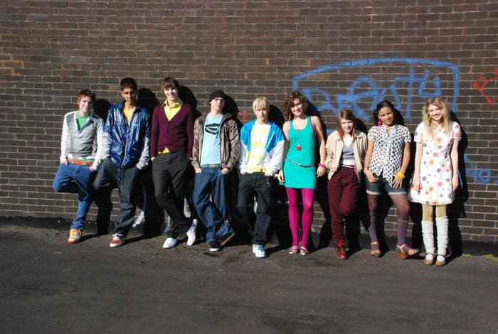 """Skins"" generation one cast"