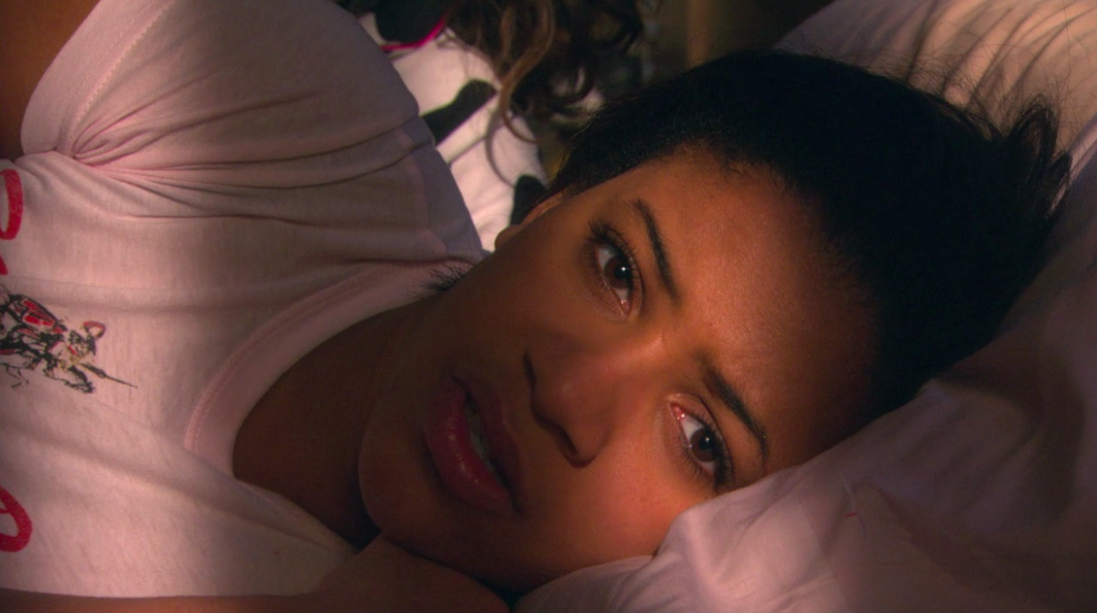 Jal lying in bed in shock after Chris's death