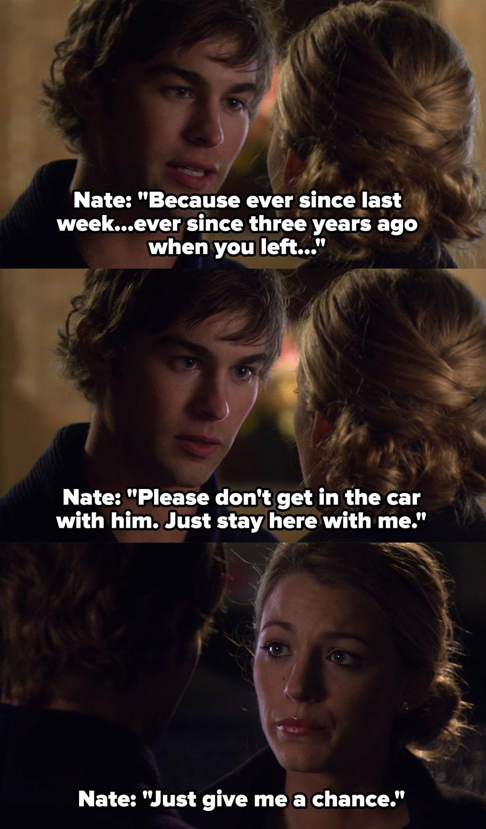 Gossip Girl Nate And Serena Should Have Been Endgame