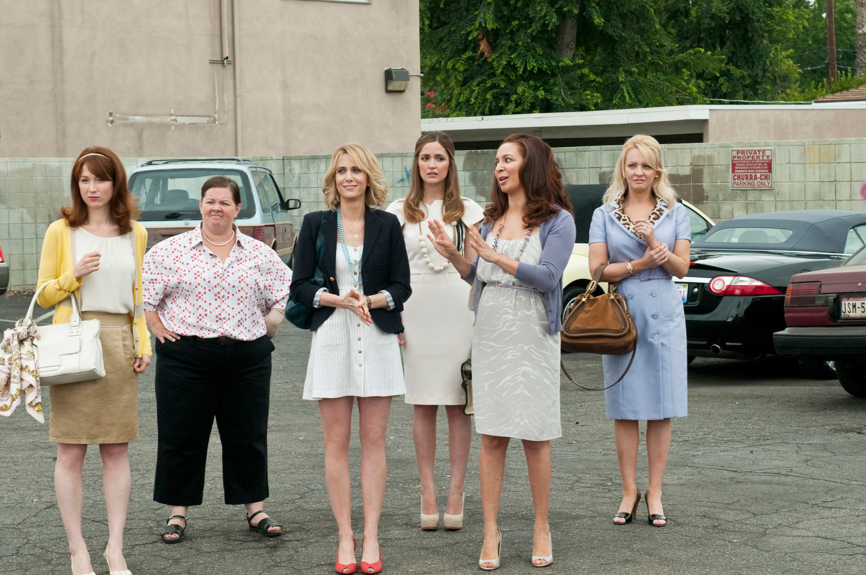 Ellie Kemper, Melissa McCarthy, Kristen Wiig, Rose Byrne, Maya Rudolph, Wendi McLendon-Covey, 2011