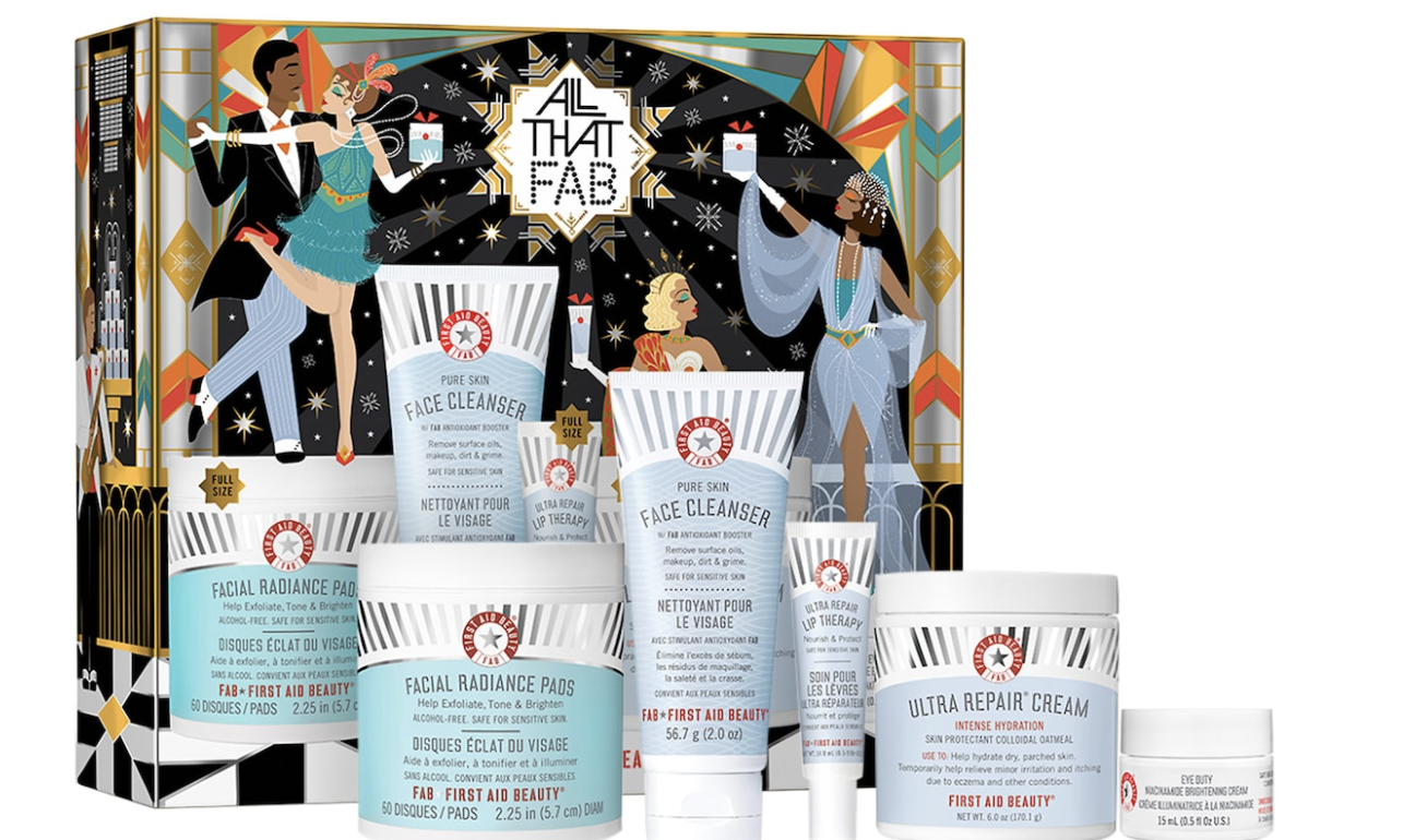 First Aid Beauty All That FAB gift set
