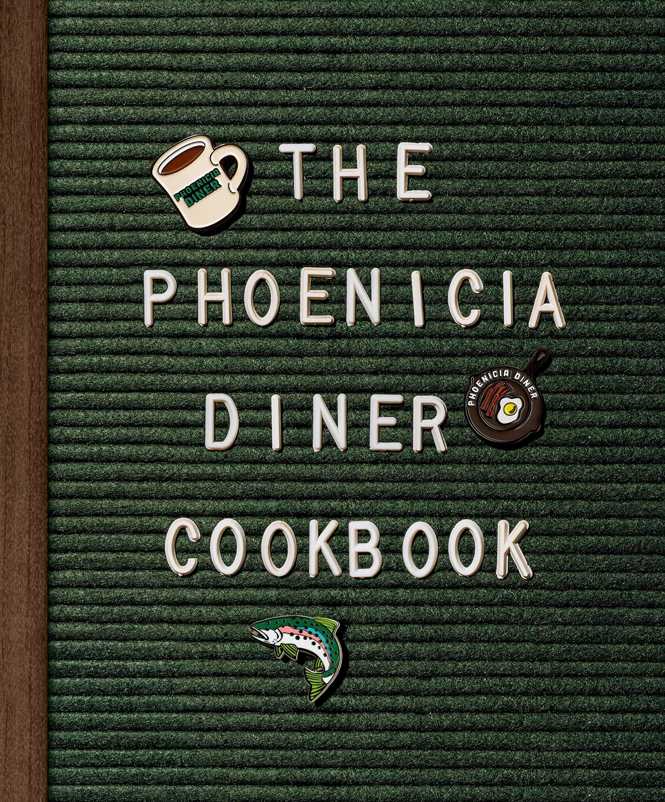 The cover of the The Phoenicia Diner Cookbook