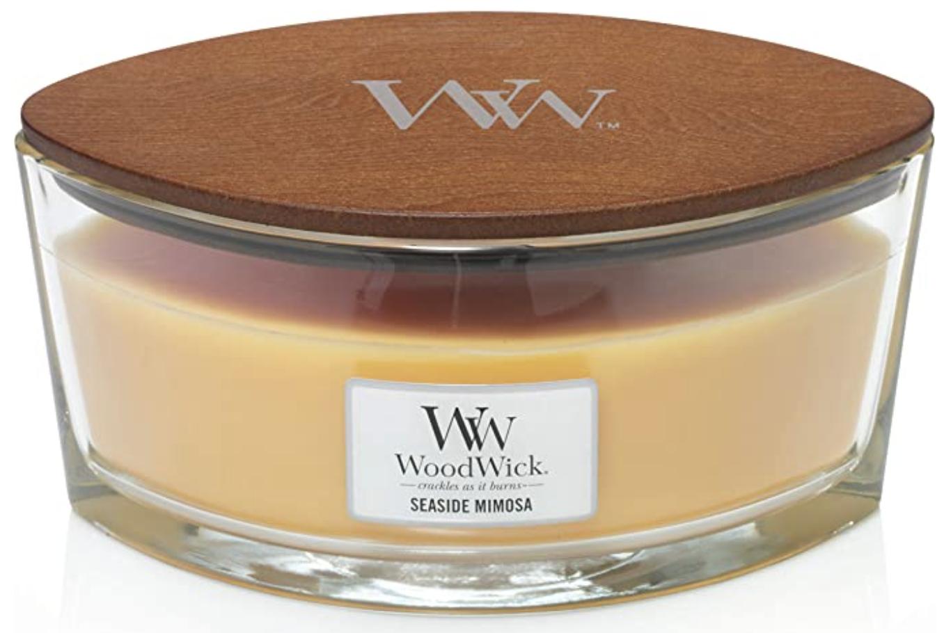 Seaside Mimosa Woodwick candle