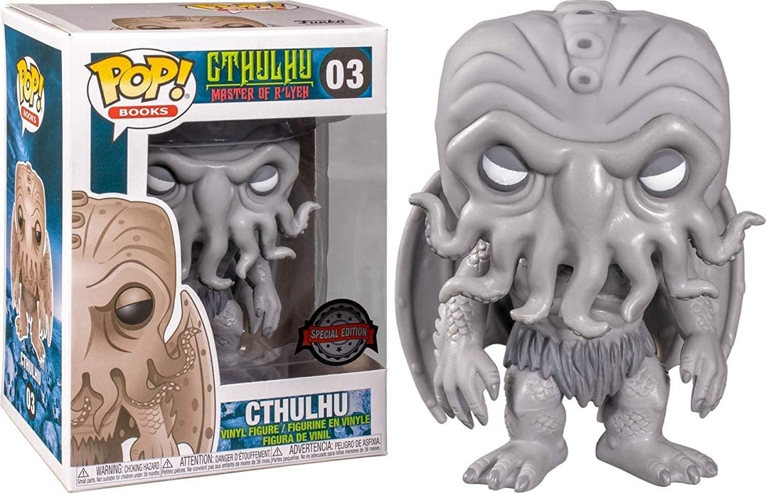 the Cthulhu funko pop action figure