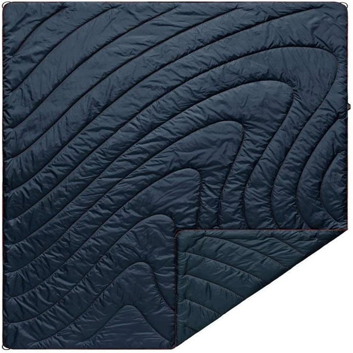 large black rumpl quilted blanket