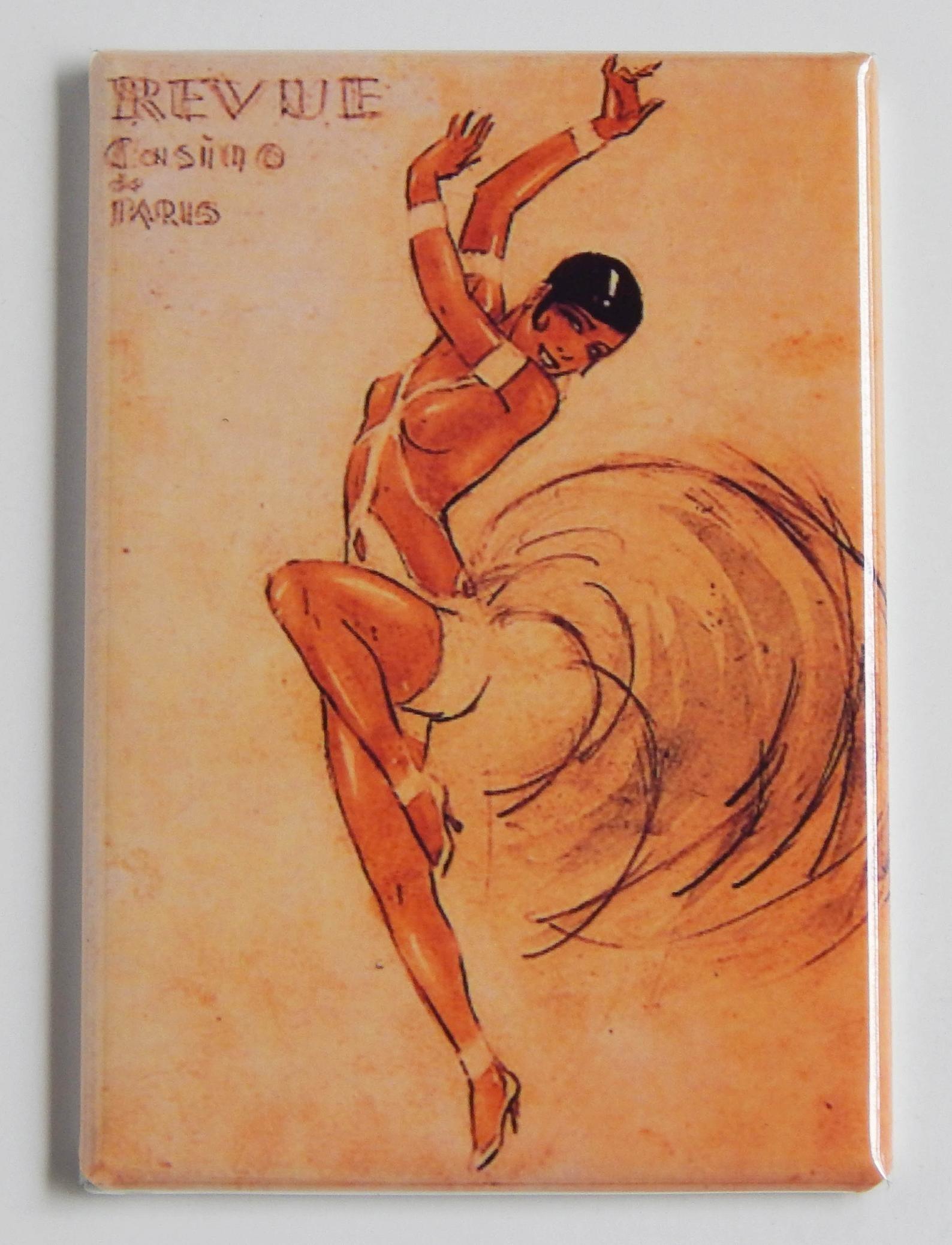 the Josephine Baker magnet