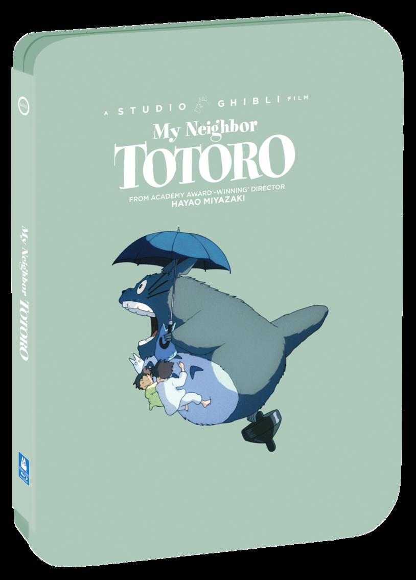 my neighbor totoro in green steelbook packaging