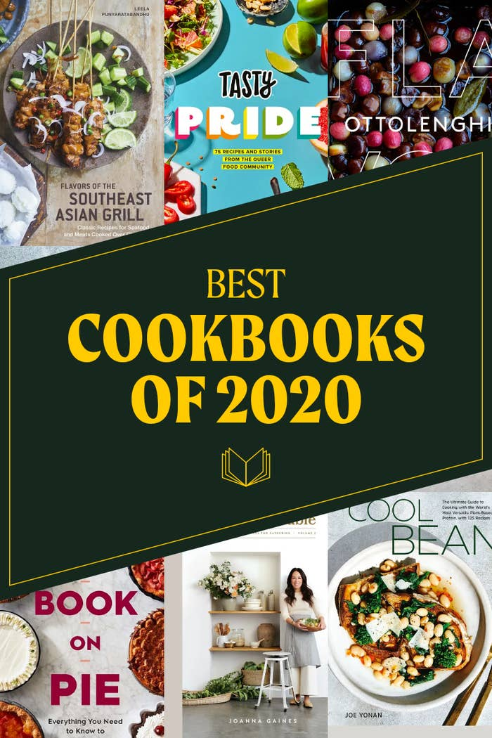 Cover shots of several of the best cookbooks of 2020