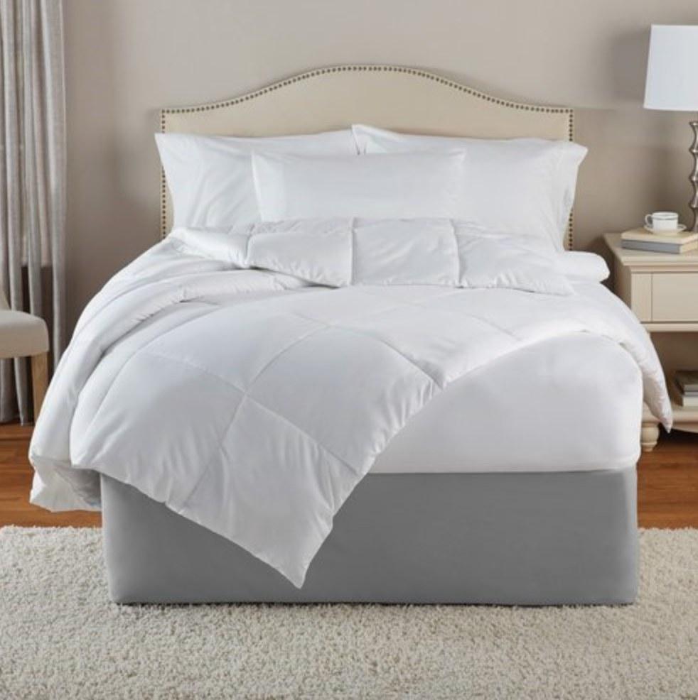 The alternative down comforter