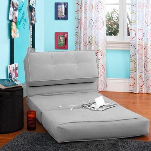 Grey lounge seat