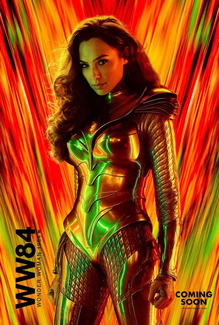 "Gal Gadot ""Wonder Woman 1984"" poster"