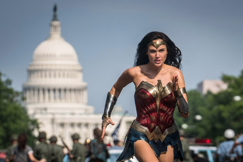 "Gal Gadot in ""Wonder Woman 1984"""