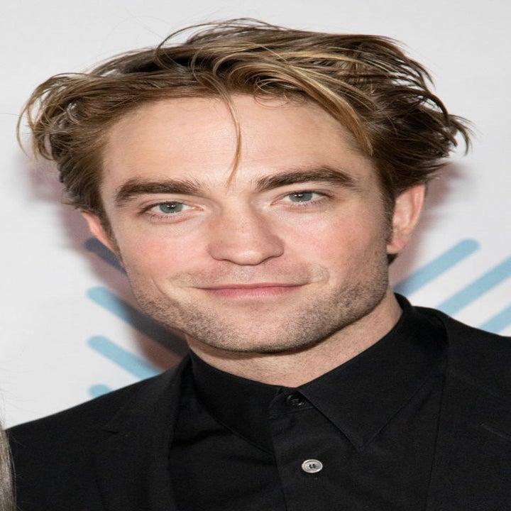 Pattinson at a film premiere
