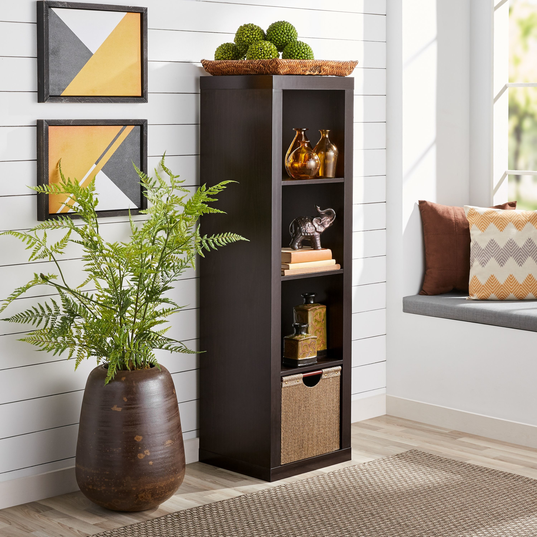 Four shelf storage organizer