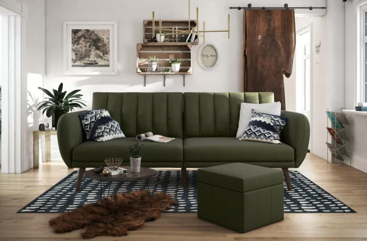 The convertible sofa