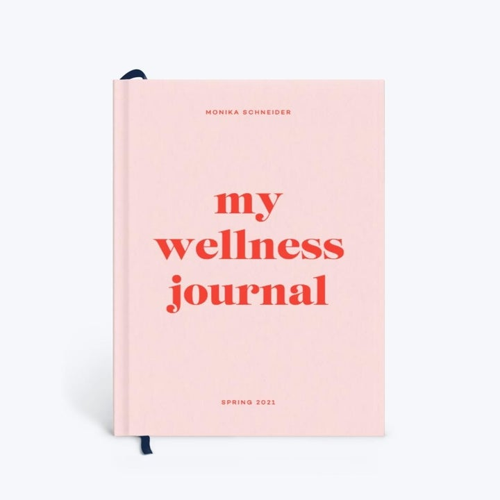 the cover of the wellness journal