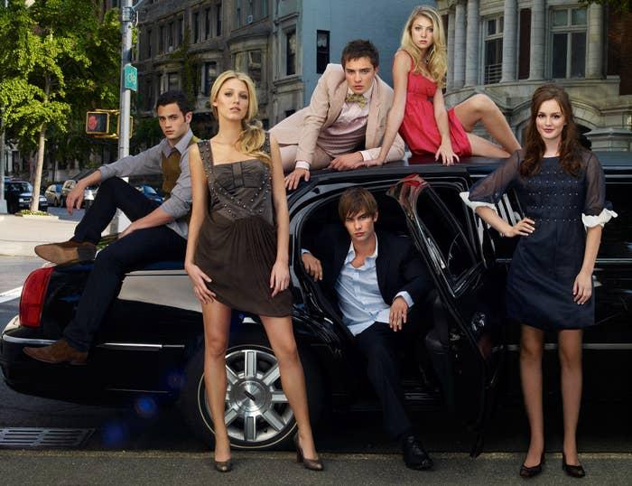 """""""Gossip Girl"""" cast"""