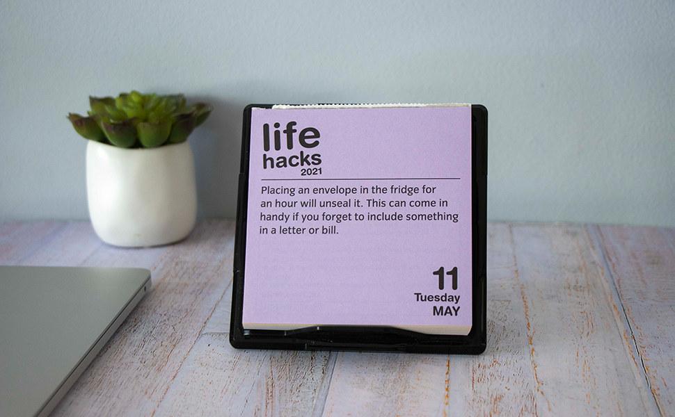 the life hacks 2021 calendar on may 11 2021