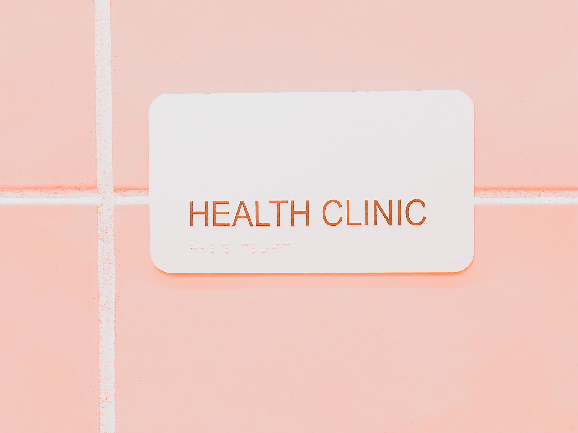 Stock image of a health clinic.