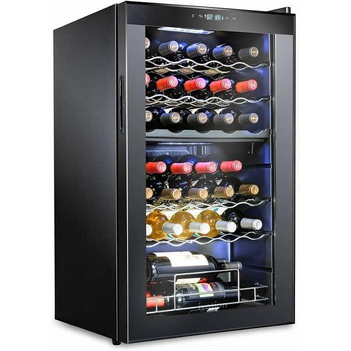 The wine refirgerator