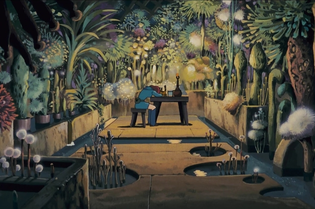 Just 14 Of The Most Beautiful Scenes From Studio Ghibli Movies