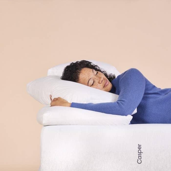 The Casper down pillow