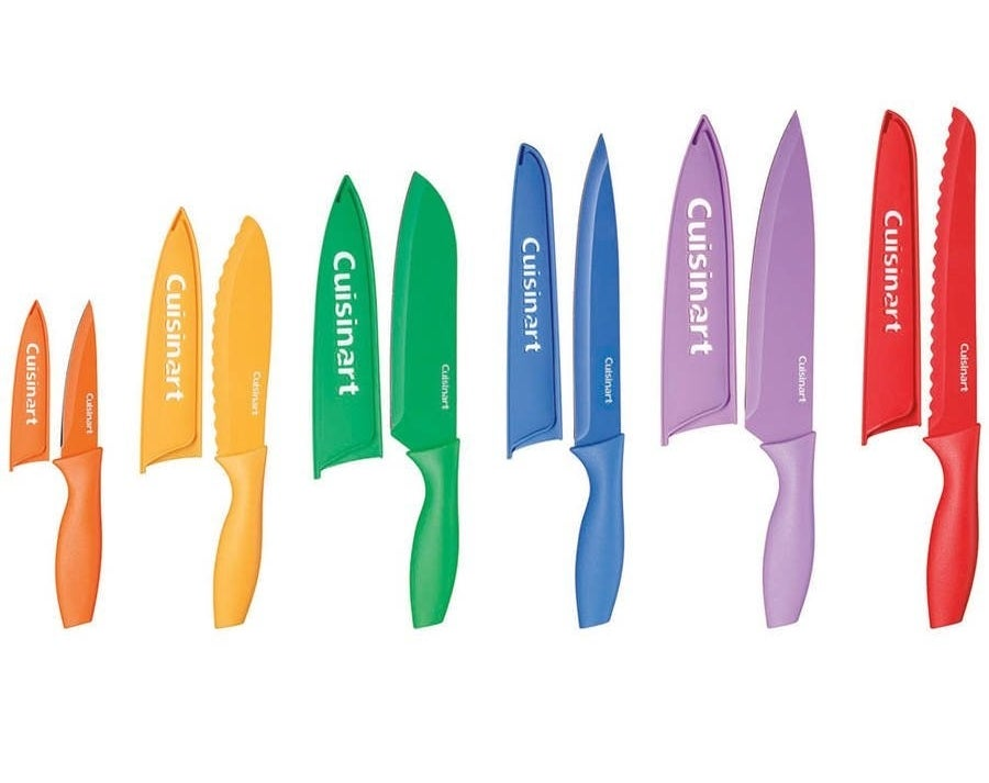The colorful knives
