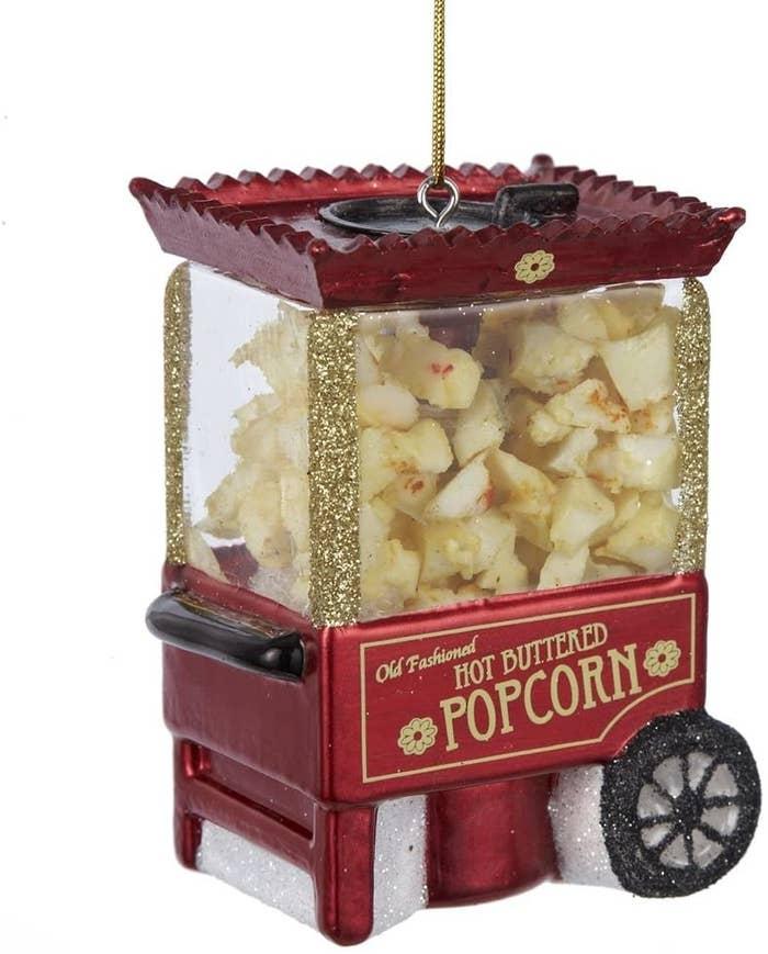 the popcorn ornament