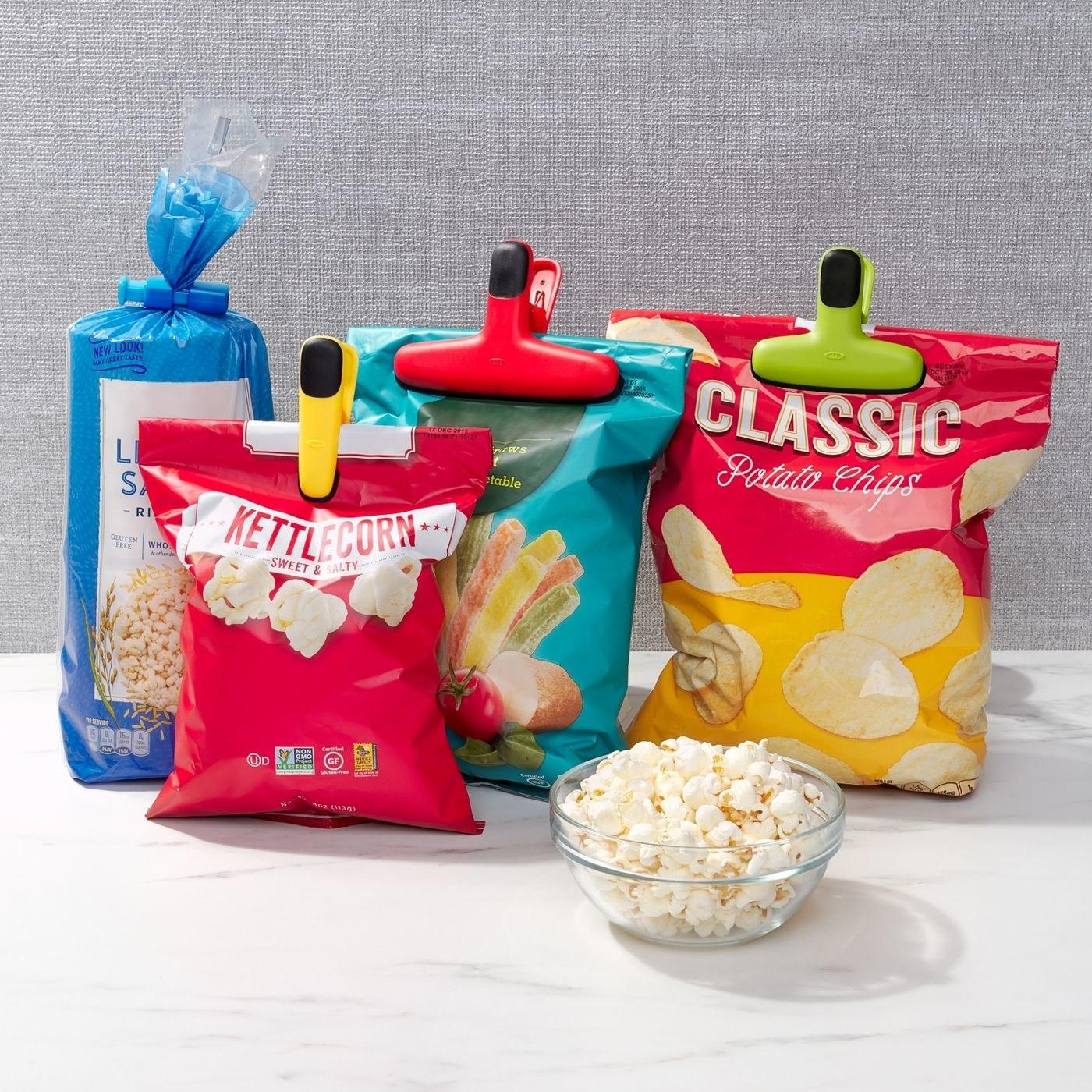 The bag clip set
