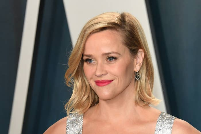 Reese Witherspoon attends 2020 Vanity Fair Oscar Party