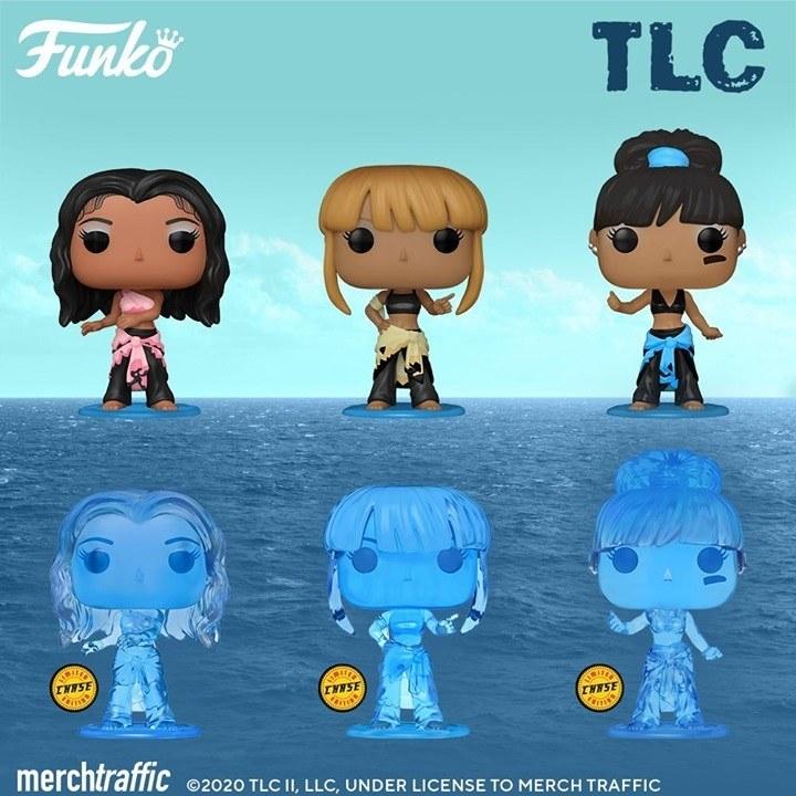 the three tlc funkos