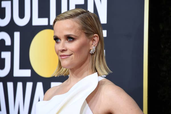 Reese Witherspoon menghadiri Penghargaan Golden Globe Tahunan ke-77 di The Beverly Hilton Hotel pada 05 Januari 2020 di Beverly Hills, California