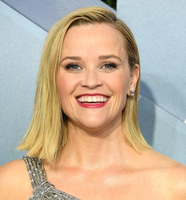 Reese Witherspoon tiba di Penghargaan Screen Actors Guild Awards ke-26 di The Shrine Auditorium pada 19 Januari 2020 di Los Angeles, California