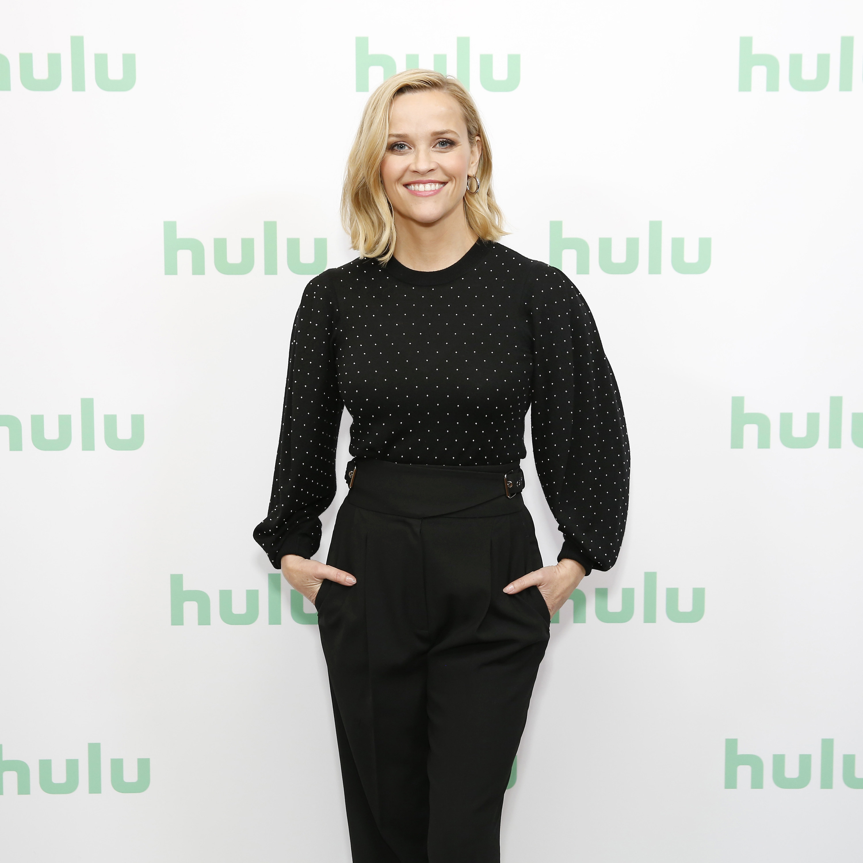 Reese Witherspoon attends a Hulu Panel